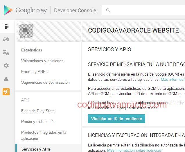 Google play store aplicacion