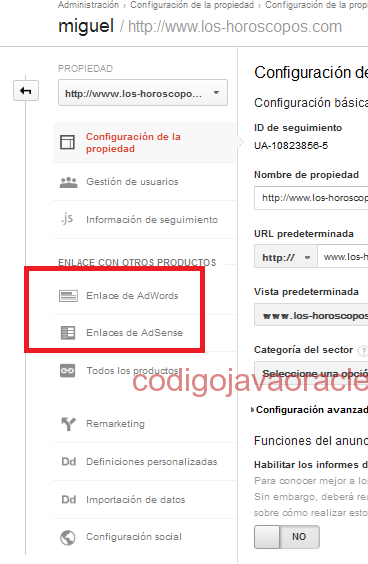 enlace adsense enlace adwords