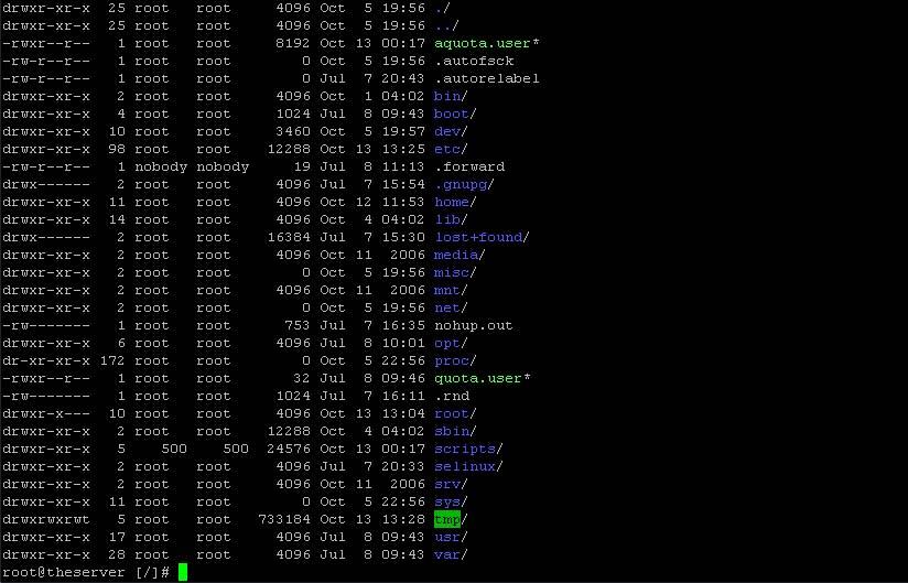linux-console