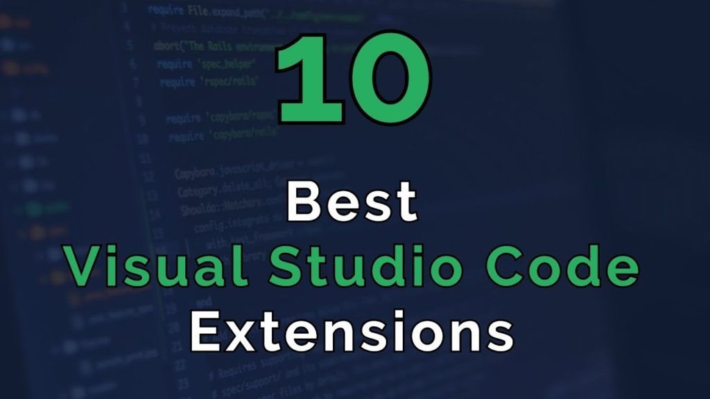best extension vs code