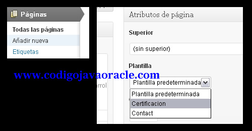 modificar plantilla wordpress